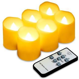 LEDキャンドルライト 6個セット リモコン付き(その他)