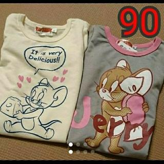 ディズニー(Disney)のトムとジェリー ロンT トレーナー(Tシャツ/カットソー)
