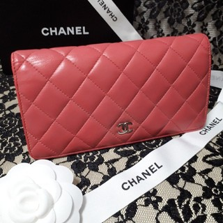 シャネル(CHANEL)の専用です 美品 CHENEL マトラッセ ピンク 長 財布 正規品(財布)