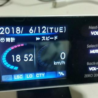 レーダー探知機/コムテックZERO220V(レーダー探知機)