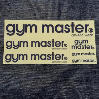 gym master シール
