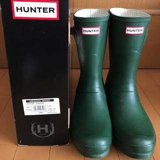 HUNTER ORIGINAL SHORT GREEN  US9