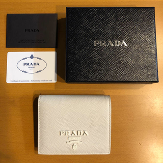 プラダ(PRADA)の美品◇プラダ PRADA  二つ折り財布(財布)