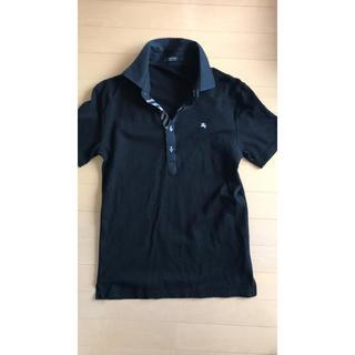 バーバリーブラックレーベル(BURBERRY BLACK LABEL)のブラックレーベル ドレスポロ(ポロシャツ)