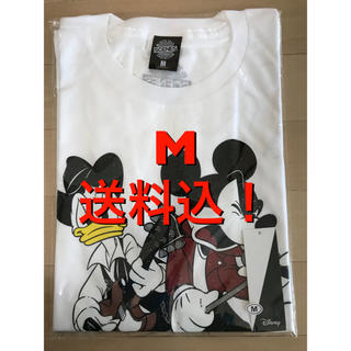 ディズニー(Disney)のB'z 30th exhibition ディズニー 親子 TシャツB 白 M(ミュージシャン)