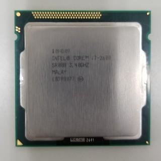インテレクション(INTELECTION)のINTEL CORE i7-2600(PCパーツ)