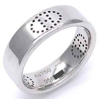 エルメス(Hermes)のエルメス エブリン リング 8号 ホワイトゴールド(リング(指輪))