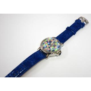 リトモラティーノ(Ritmo Latino)のRitmo Latino リトモラティーノ モザイコ D3ML99SS のブルー(腕時計(アナログ))