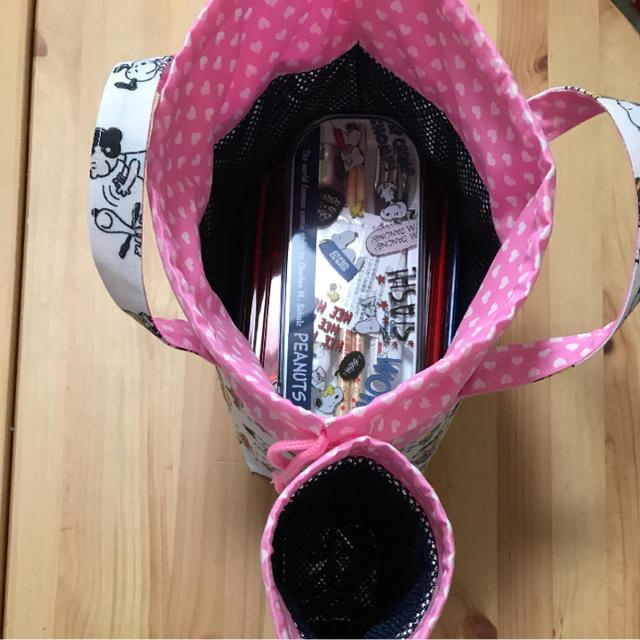 ハンドメイド保冷ランチバッグ 保冷ペットボトルカバーセット ハンドメイドの生活雑貨(キッチン小物)の商品写真