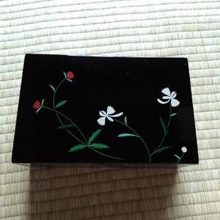 新品未使用 会津塗り うるし 小箱(漆芸)