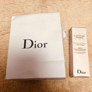 ディオール(Dior)のDior カプチュール トータル ドリームスキン1ミニット マスク(ゴマージュ/ピーリング)