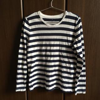 ムジルシリョウヒン(MUJI (無印良品))の無印良品 ボーダーカットソー(Tシャツ(長袖/七分))