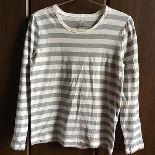 ムジルシリョウヒン(MUJI (無印良品))の無印良品 ボーダーカットソー (Tシャツ(長袖/七分))