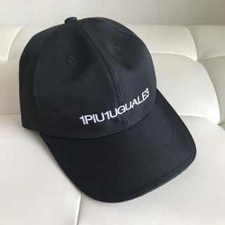 ウノピゥウノウグァーレトレ(1piu1uguale3)の専用  1piu1uguale3 キャップ(キャップ)