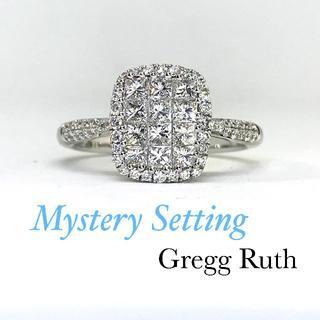 K様専用♡【1カラット】ミステリーセッティング NYブランドGregg Ruth(リング(指輪))