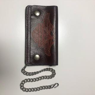 ハーレーダビッドソン(Harley Davidson)のハーレー ダビッドソン 財布 チェーン付き(長財布)