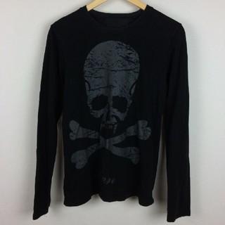 ロエン(Roen)のRoen ロエン 長袖カットソー ブラック サイズM(Tシャツ/カットソー(七分/長袖))