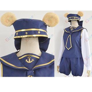 Disney - ダッフィー コスプレ ハロウィン ディズニー 仮装 コスチューム