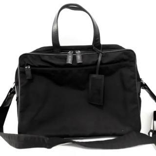 プラダ(PRADA)のPRADA ビジネスバッグ 黒 美品(ビジネスバッグ)
