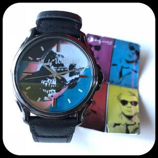 アンディウォーホル(Andy Warhol)の♥︎ アンディーウォーホル 腕時計 黒 ♥︎(腕時計(アナログ))