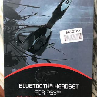プレイステーション(PlayStation)のPS3 ブルートゥース ヘッドセット(ヘッドフォン/イヤフォン)
