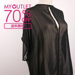 ステイプル(staple)のStaple(ステイプル) シンプルな黒いトップス(Tシャツ/カットソー(半袖/袖なし))