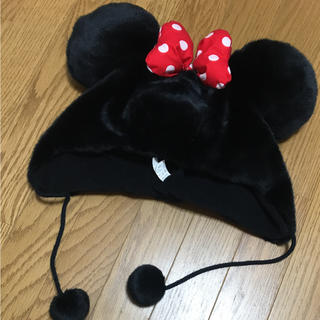 ディズニー(Disney)のミニー帽子♡(キャラクターグッズ)
