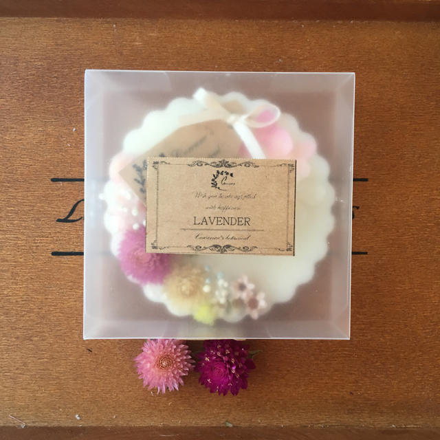 mini toilet plate黄 ※アロマワックスサシェ ハンドメイドのインテリア/家具(アロマ/キャンドル)の商品写真