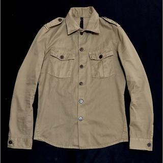 ダブルジェーケー(wjk)の定価27000円 wjk ワイヤーミリタリーシャツ AKMジュンハシモト(シャツ)