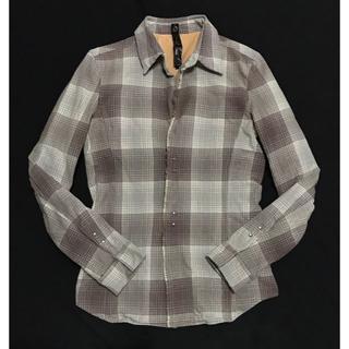 ダブルジェーケー(wjk)の定価38880円 wjk チェックフックドレスシャツ AKMウノピュウ(シャツ)