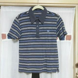 バーバリーブラックレーベル(BURBERRY BLACK LABEL)のバーバリーブラックレーベル ポロシャツ メンズ サイズ2 Mサイズ バーバリー(ポロシャツ)