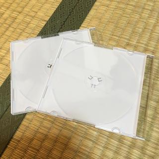 CD、DVDケース  2枚付き(CD/DVD収納)