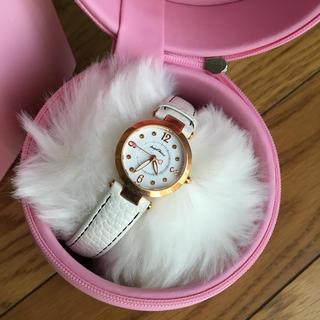 エンジェルハート(Angel Heart)のエンジェルハート 腕時計 白ベルト ケース付き(腕時計)