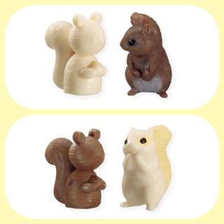 エポック(EPOCH)の森のおもちゃ屋さん*2種セット(リスの木目調人形)(その他)