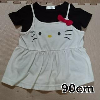 シマムラ(しまむら)の90cm ハローキティ Tシャツ(Tシャツ/カットソー)