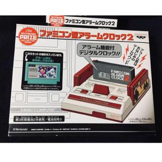 ニンテンドウ(任天堂)のファミコン型アラームクロック2 アイスクライマー(キャラクターグッズ)