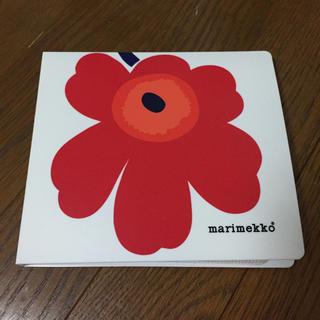 マリメッコ(marimekko)の【状態良・送料無料】マリメッコ CD/DVD収納ケース(CD/DVD収納)