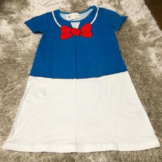 ディズニー(Disney)のディズニー ドナルド タグ付き Tシャツワンピース (Tシャツ(半袖/袖なし))