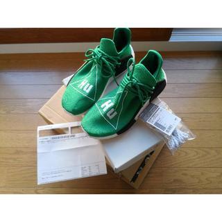 アディダス(adidas)の未使用正規品◆adidas PW HUMAN RACE NMD 26.5cm 緑(スニーカー)