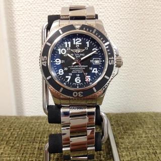 ブライトリング(BREITLING)の【価格交渉済み】ブライトリング スーパーオーシャンⅡ 42(腕時計(アナログ))