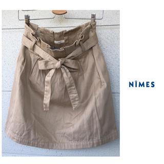 ニーム(NIMES)のニーム コクーン スカート ノーリーズ フレディ ニコアンド スタジオクリップ(ひざ丈スカート)