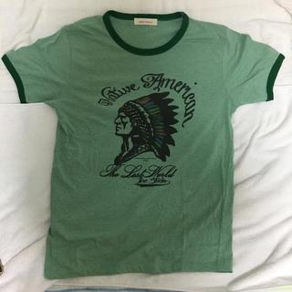 フランクリンアンドマーシャル(FRANKLIN&MARSHALL)のlinestudio FRANKLN&MARSHALL beams tシャツ(Tシャツ/カットソー(半袖/袖なし))
