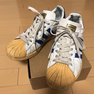 アディダス(adidas)のadidas SUPER STAR 1 WHITE/SATELLITE(スニーカー)