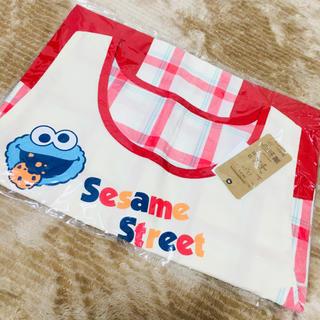 セサミストリート(SESAME STREET)のエルモ エプロン 新品(その他)