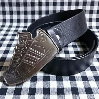 アディダス(adidas)のレア☆adidas originals スーパースター バックル ベルト(ベルト)