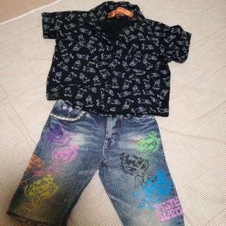 ヒステリックミニ(HYSTERIC MINI)のヒスミニ 半袖シャツ(シャツ/カットソー)