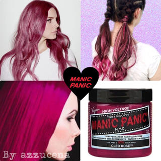 manic panic hair color ✩ Cleo Rose(カラーリング剤)