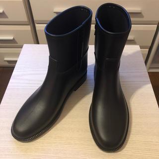 ダフナブーツ(Dafna Boots)のDAFNA ダフナ ショートレインブーツ 長靴 ロゴ無し 希少(レインブーツ/長靴)