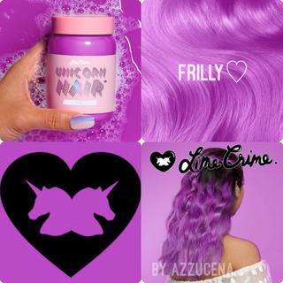 ライムクライム(Lime Crime)のLimecrime Unicorn hair Frilly ♥✧*°(カラーリング剤)