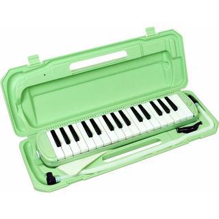 ★大幅値下げ!★鍵盤ハーモニカ (メロディーピアノ) ライトグリーン(その他)